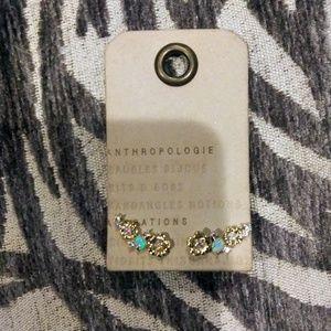 NWT Anthropologie Stud Earrings